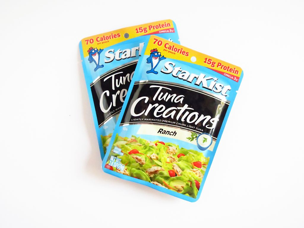 tuna packet ranch flavor healthy travel foods