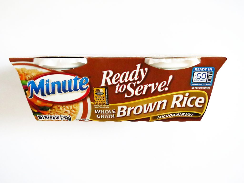 Ready to Serve microwavable brown rice