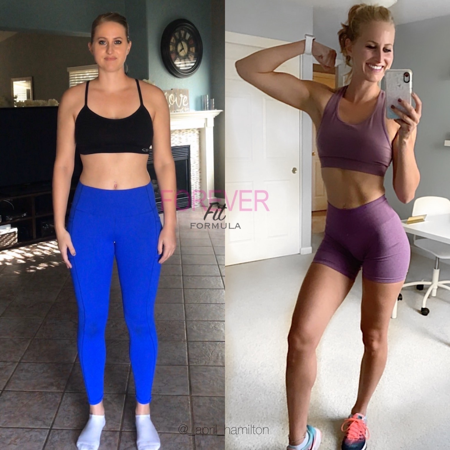 My fitness journey - forever fit formula