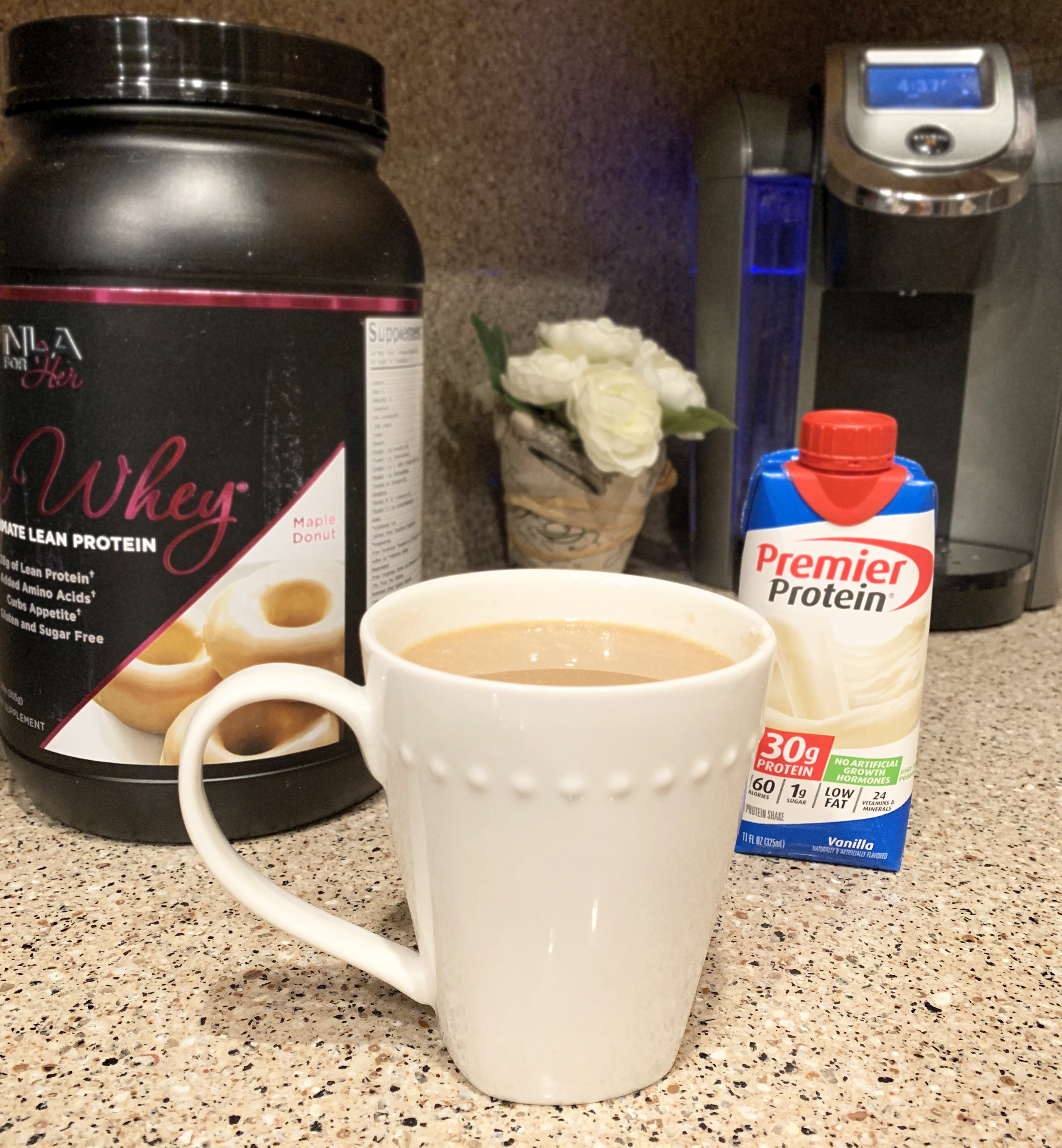 coffee cup with creamer alternatives and substitutes